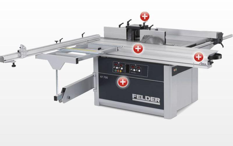 Saagfrees Felder KF 700 Professional