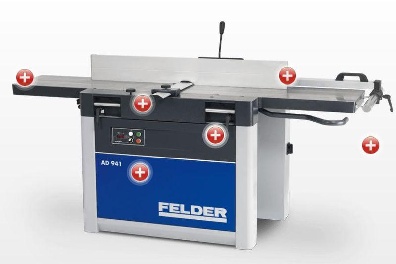 Felder höövel-paksusmasin AD 941