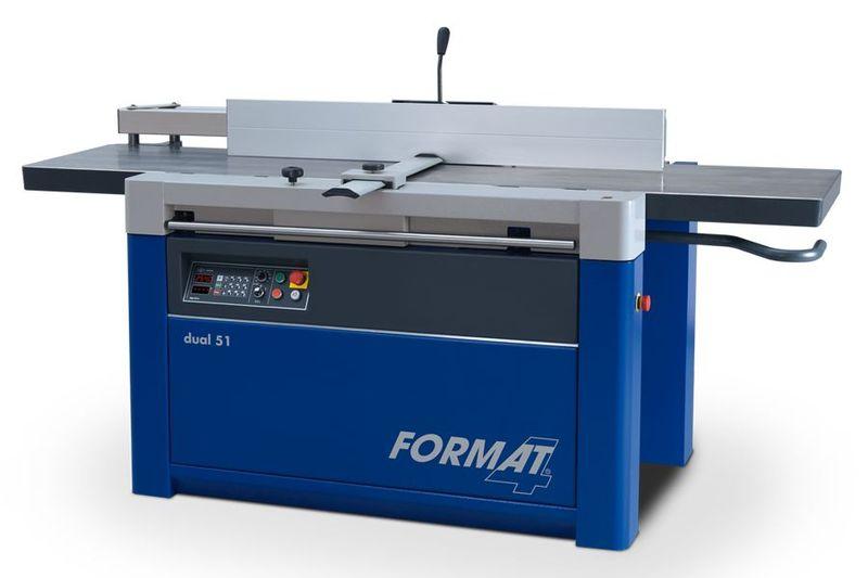 Format-4 höövel-paksusmasin dual 51